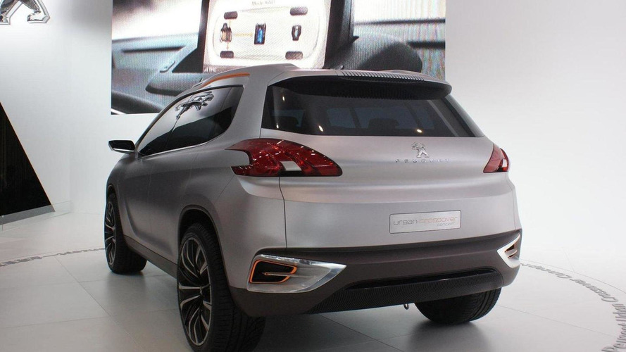 Future Peugeot 2008 crossover previewed in Beijing