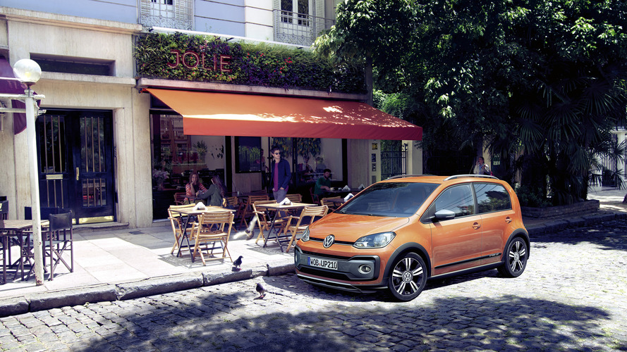 Rugged VW Cross Up! targets SUV popularity in Europe starting at €14,250