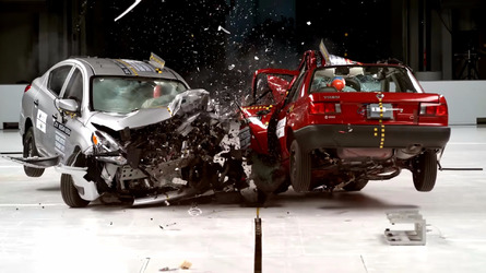 This terrifying crash test is why the Nissan Tsuru was axed