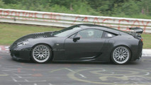 Lexus LF-A Uncovered
