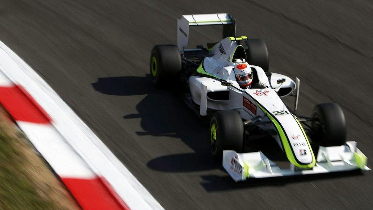Rubens Barichello in action at Monza