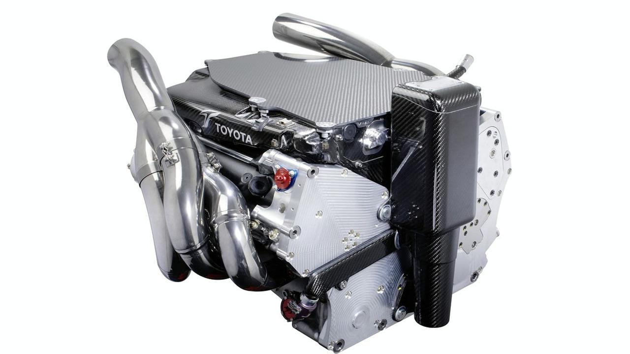 2009 Panasonic Toyota TF109 Formula 1 engine