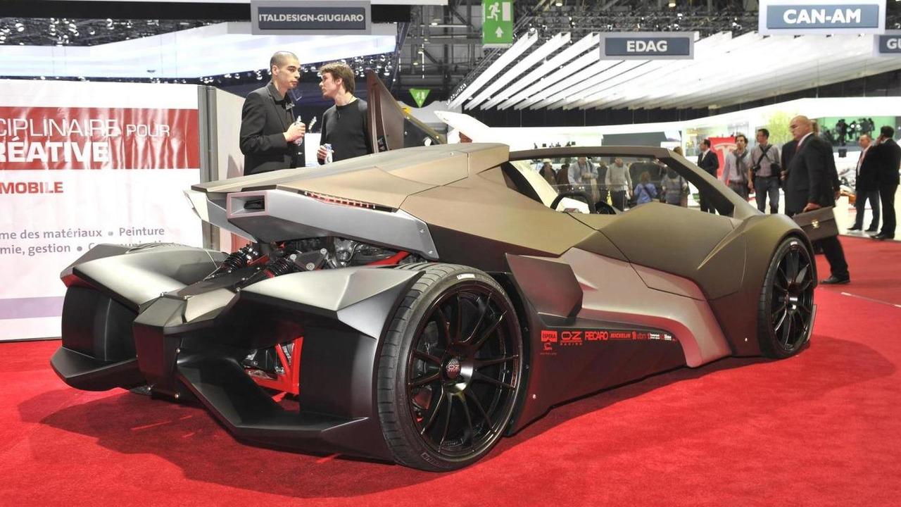 Espera Sbarro Evoluzione design concept live in Geneva - 03.03.2011