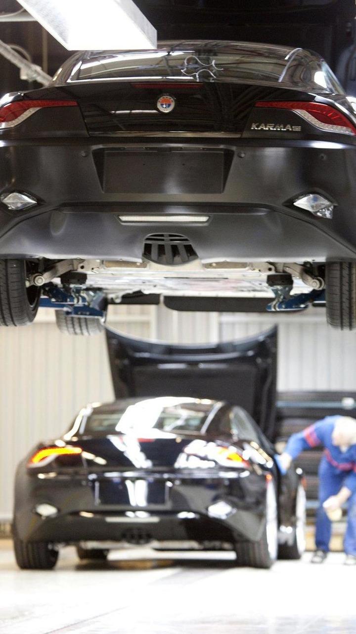 2012 Fisker Karma plug-in hybrid production, Valmet Automotive, 22.3.2011