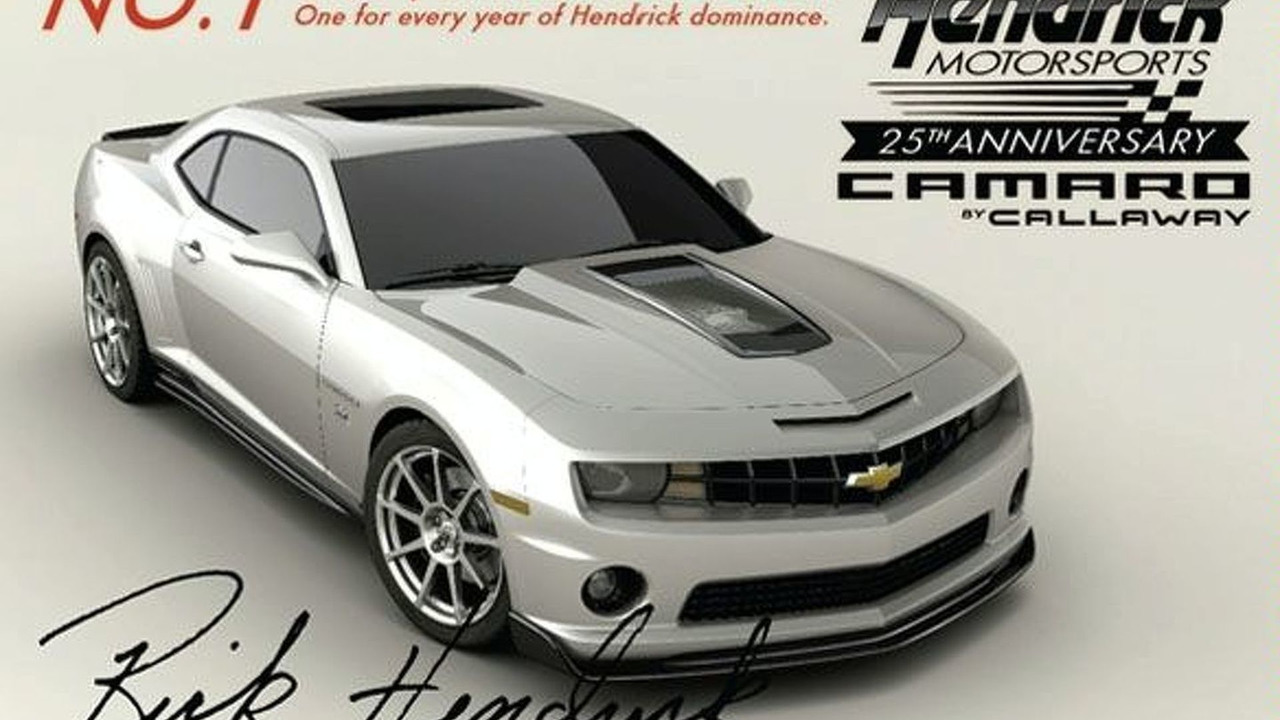 Hendrick Motorsports 25th Anniversary Camaro
