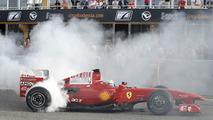 Massa reunites with F60 at Valencia