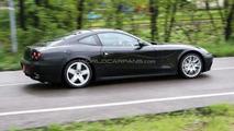 Ferrari 612 test mule spy photo