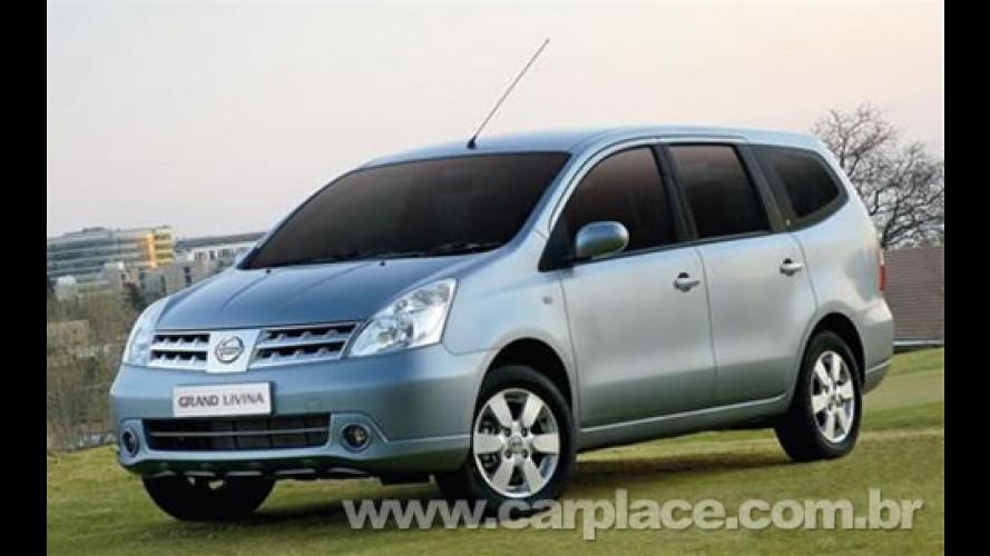 Nissan confirma nova Livina e Grand Livina no Salão do Automóvel de SP