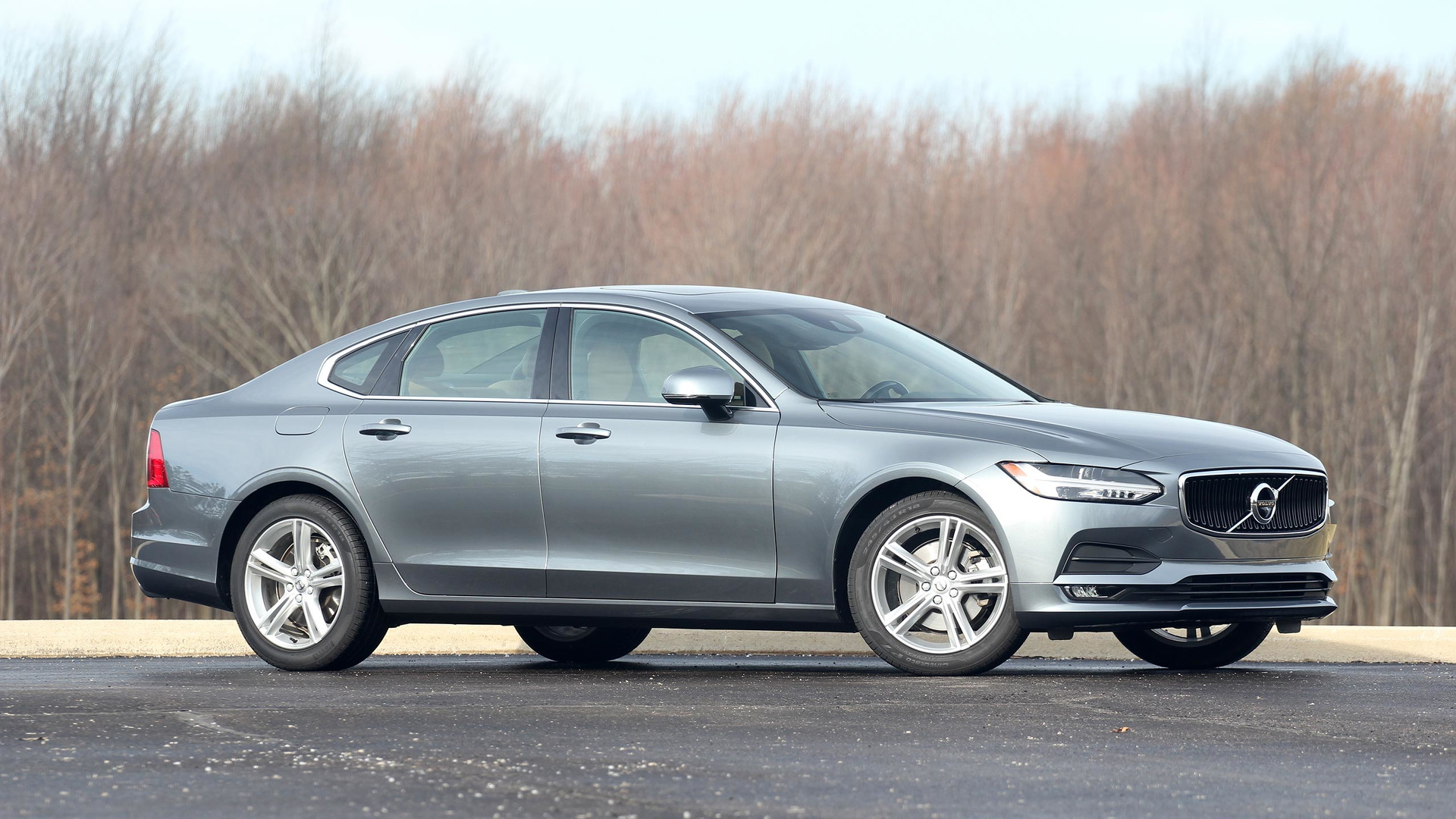 2017 volvo s90 review a superior swedish sedan. Black Bedroom Furniture Sets. Home Design Ideas