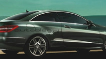 Mercedes E-Class Coupe Official Images Leak Out