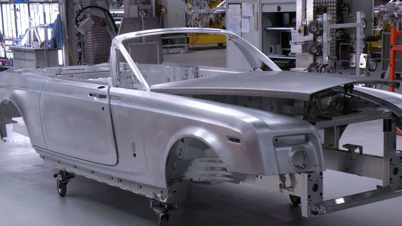 Rolls Royce Phantom on Ultimate Factories TV show