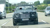 SPY PHOTOS: Rolls Royce Corniche Cabrio