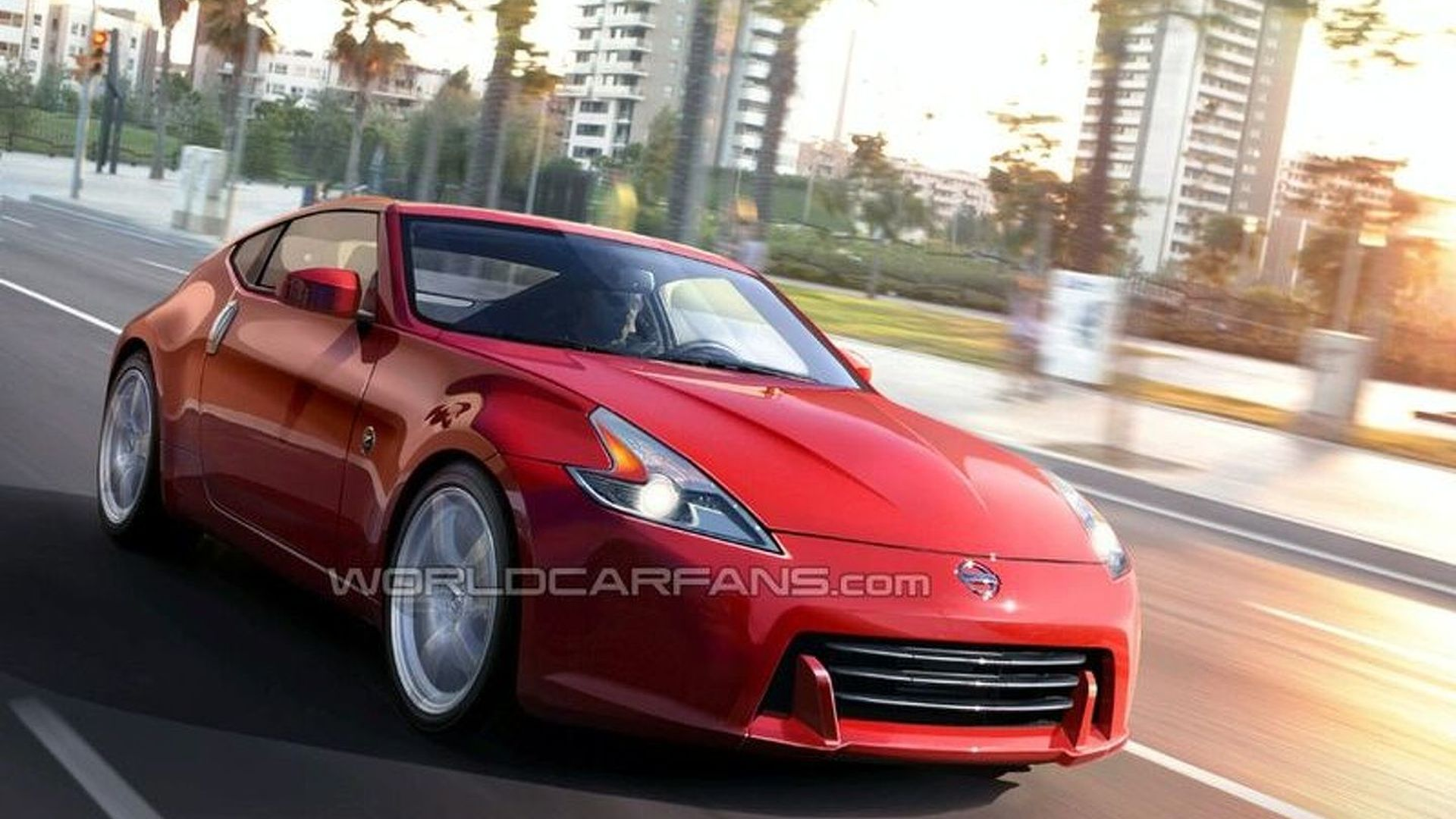 Nissan 370Z Latest Spy Photos & Rendering