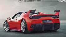 Ferrari 458 FXX Speciale A is a virtual track-only 458 Speciale Aperta