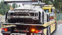 2016 Audi R8 LMS Ultra prototype spy photo