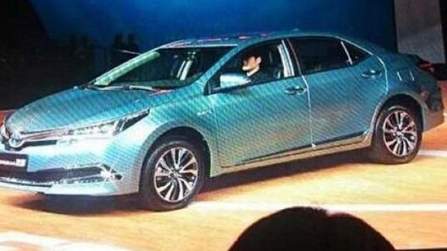 Toyota Corolla Hybrid revealed in China