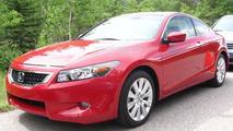 U.S. Spec Honda Accord on Photo Shoot