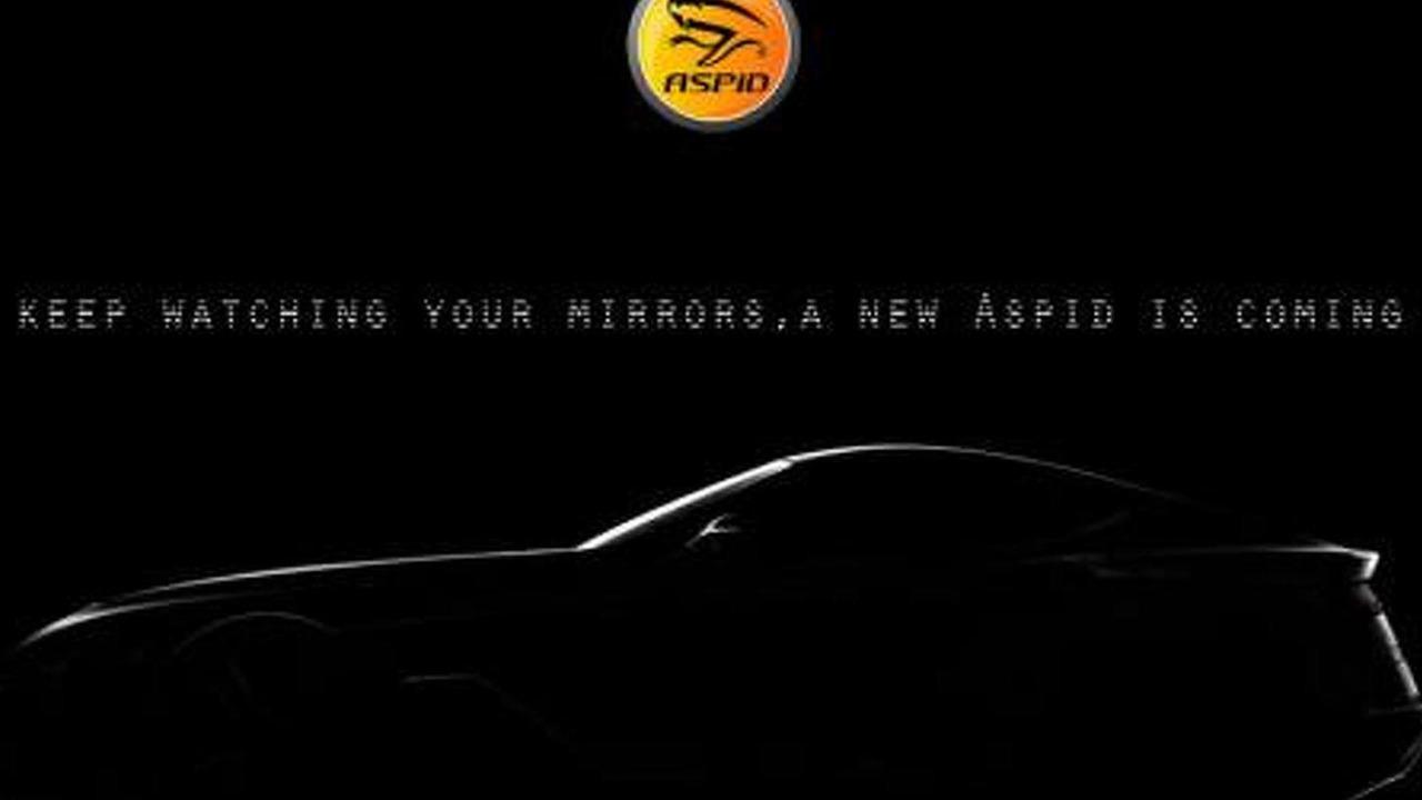 Aspid sports car teaser image
