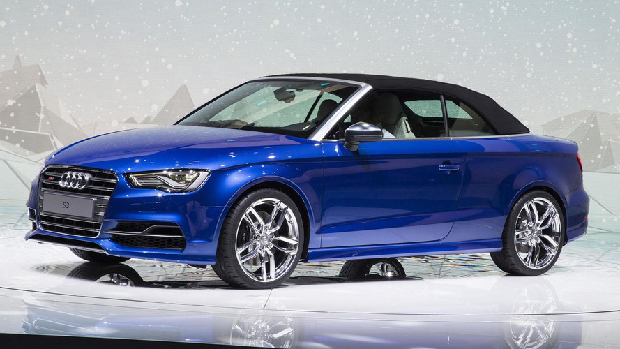 Audi S3 Cabrio drops it top in Geneva