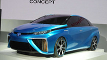 Toyota FCV concept shown in Tokyo, production version set for 2015