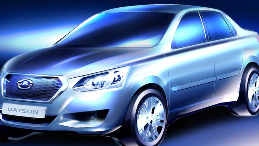 Datsun teases Russia-only model ahead of April reveal