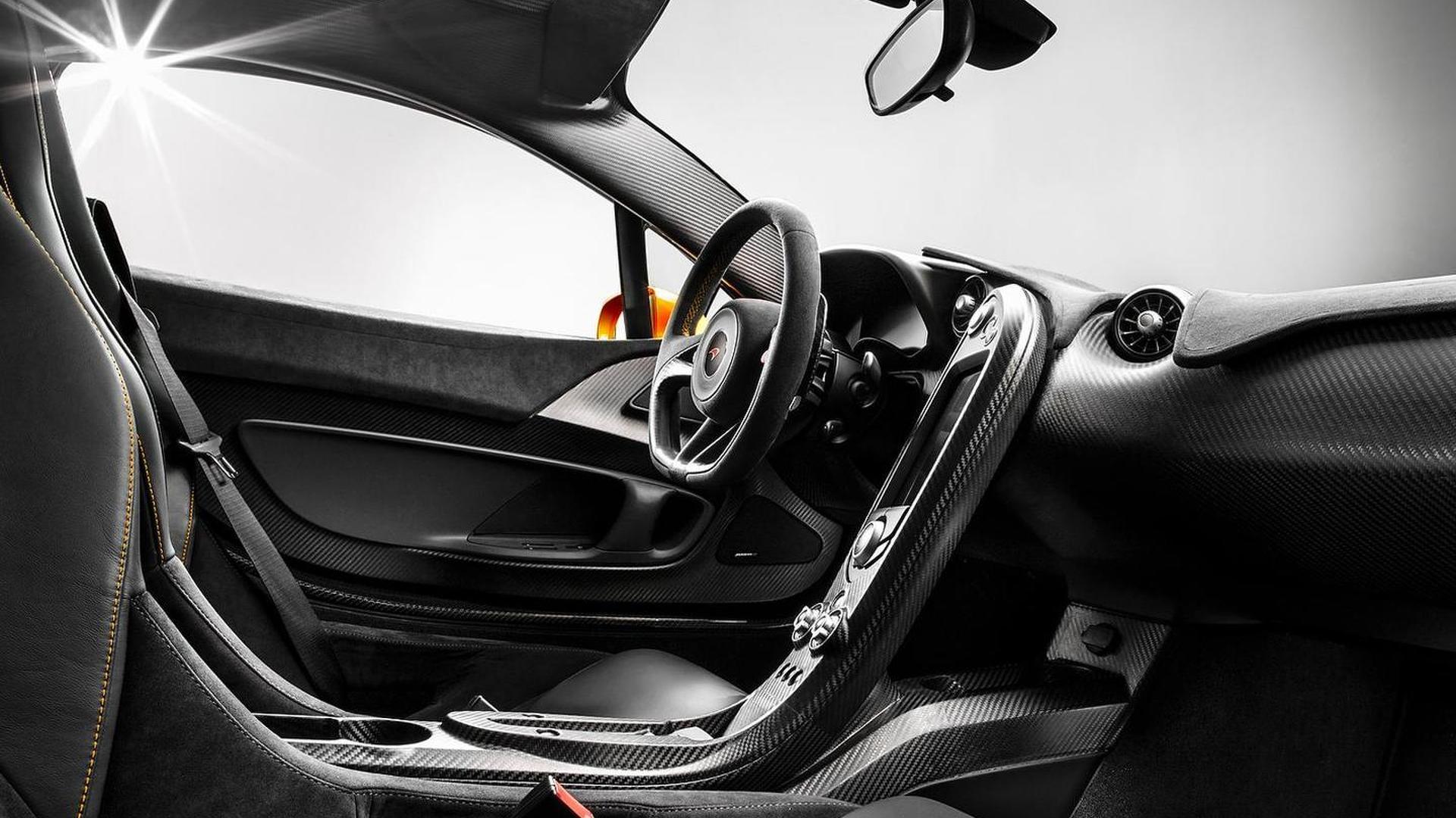 McLaren reveals P1 interior