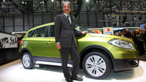 2013 Suzuki SX4 live in Geneva