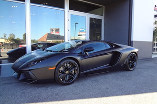 Kanye West Might Have Just Sold His Matte Black Aventador