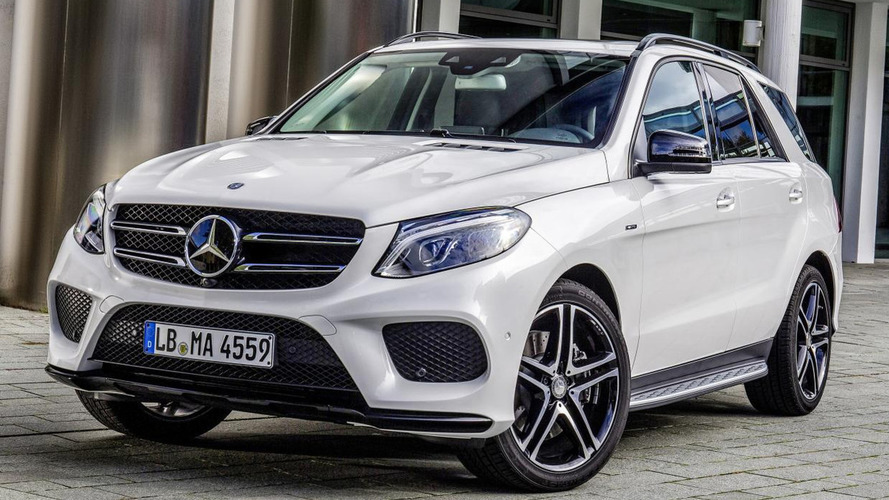Mercedes-Benz GLE 450 AMG 4MATIC revealed with 367 PS