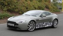 2013/2014 Aston Martin Vantage major facelift test mule spied