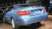 2010 Mercedes E-Class Cabriolet World Debut at North American International Auto Show in Detroit