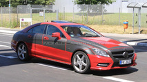 2012 Mercedes CLS-Class spy photos - 09.07.2010