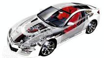 Honda NSX See-Through Technical Illustration Leaked