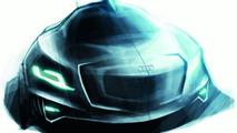 Audi Intelligent Emotion future mobility concept sketch by Sylvain Wehnert