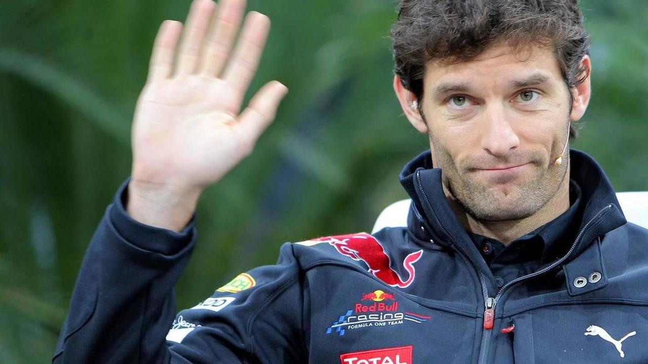 Mark Webber (AUS) at Championship press conference Red Bull at Hangar 7, 16.11.2010 Salzburg, Austria