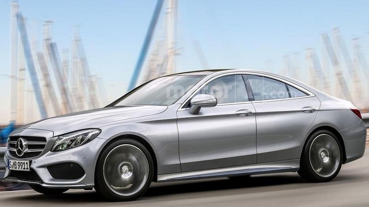 Mercedes CLC render