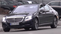 Mercedes S-Class facelift spied for the first time with no camo [video]
