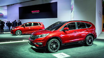 2015 Honda CR-V and HR-V prototypes at 2014 Paris Motor Show
