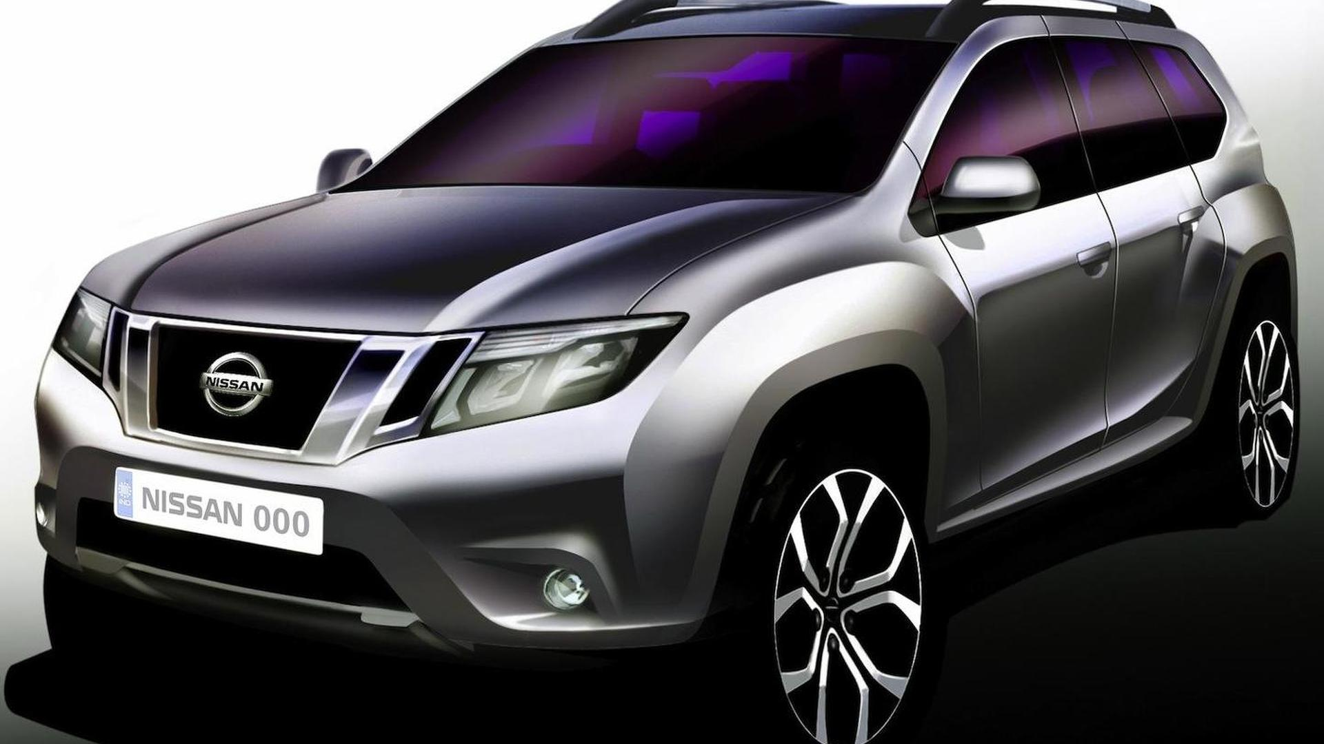 2013 Nissan Terrano confirmed for August 20 debut