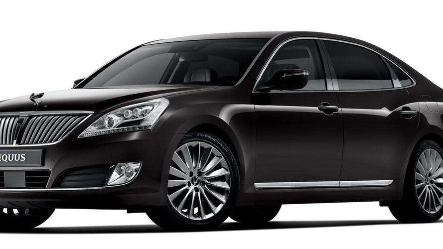 2013 Hyundai Equus facelift revealed