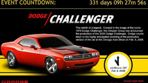 Dodge Challenger Production Version to be Revealed in 331 Days