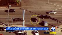 Stolen Chevy Volt high-speed chase ends in crash, suspect caught