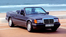 Mercedes marks 25 years since 124-series E-Class Cabriolet launch