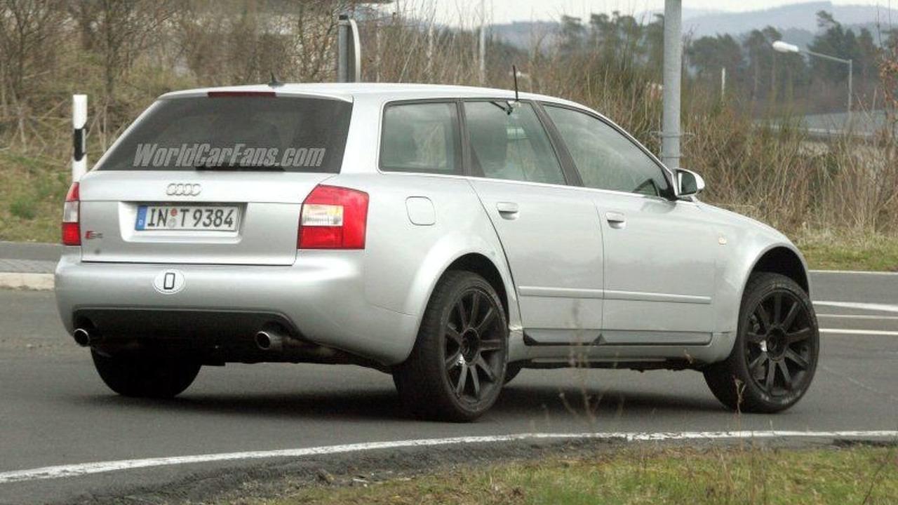 Audi Q5 mule