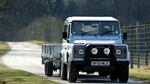 Upgraded Land Rover Defender for 2007