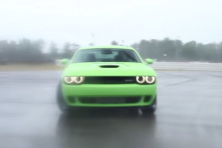 Matt Farah Gets Sideways in the Dodge Challenger Hellcat [Video]