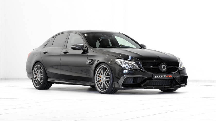 Brabus Mercedes-AMG C63 S packs 641 hp
