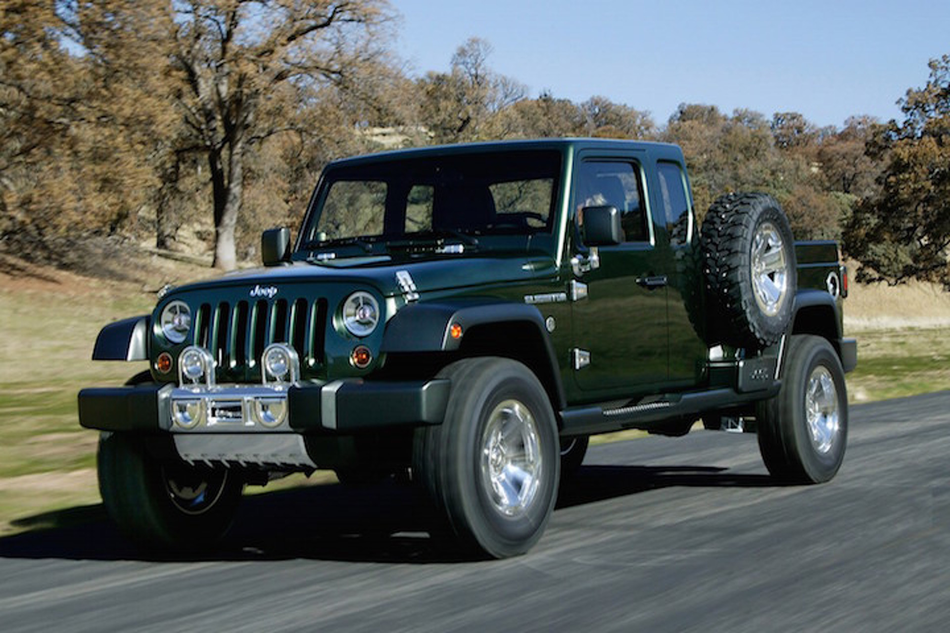 Confirmation: The Jeep Wrangler Pickup Is Happening
