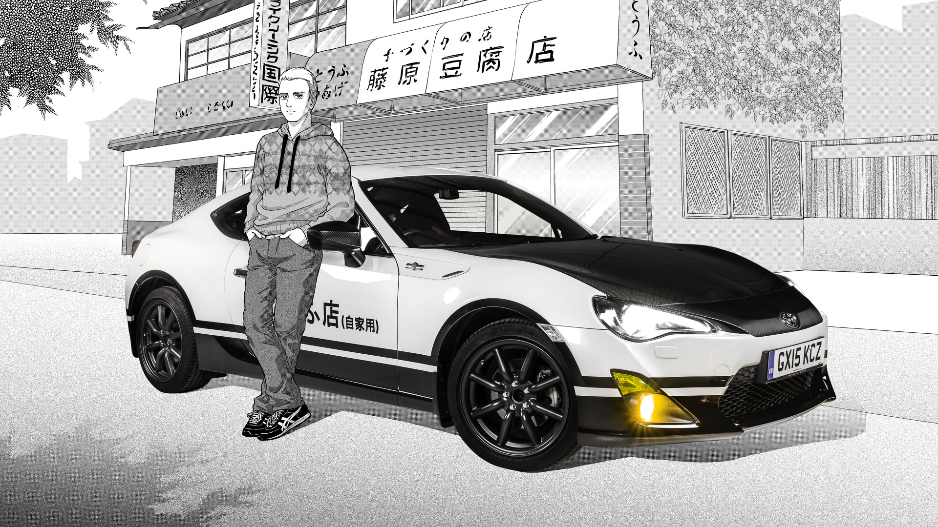 Toyota GT86 Initial D concept pays homage to Japanese manga series