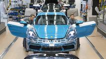 Porsche 718 Cayman production